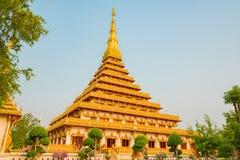 Nong Wang tempel, Thailand Royaltyfria Bilder