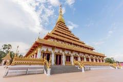 Nong wang Wat, тайский висок Стоковое Изображение