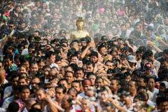 NONGKHAI THAILAND APRIL 13: Songkran festival Royaltyfria Bilder