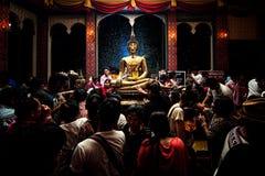 NONGKHAI THAILAND APRIL 13: Songkran festival Arkivfoton