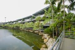 NongNooch den tropiska botaniska trädgården royaltyfria bilder