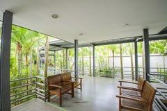 NongNooch den tropiska botaniska trädgården Arkivfoton