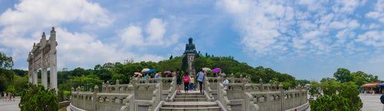 NongPing hongkong. Huge bhudda on nongping hongkong stock photo