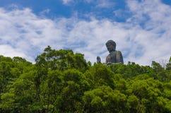 NongPing hongkong. Huge buddha in hongkong Nongping Stock Images