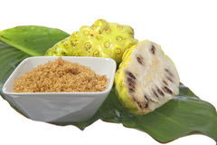 Noni fruit Stock Image