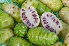 Noni fruits stock image
