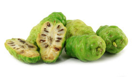 Noni fruits Royalty Free Stock Images