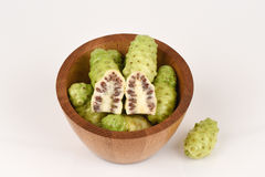 Noni fruits. Stock Photo