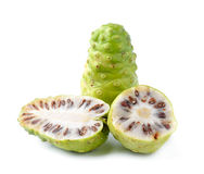 Noni Indian Mulberry fruit Stock Photos