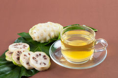 Noni juice fresh. Royalty Free Stock Photos