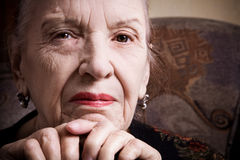 Nonna Fotografia Stock Libera da Diritti