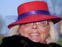 Nonna alla moda Immagini Stock