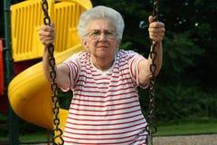 Nonna d'oscillazione 10 fotografia stock libera da diritti