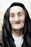 Nonna gentile immagini stock