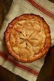 Nonna Smith Apple Pie Overhead View Fotografia Stock
