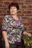 Nonna sorridente Fotografia Stock