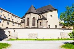 Nonnberg Abbey Stift, Salzburg Imagen de archivo