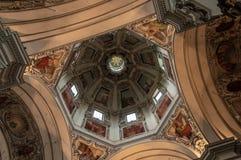 Nonnberg opactwo Benedykty?ski monaster w Salzburg obrazy royalty free