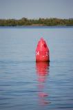 Nonne de rouge d'aide de navigation Photo stock