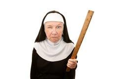 Nonne drôle Photos stock