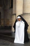 Nonne à genoux Images stock