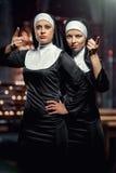Nonnes photo libre de droits