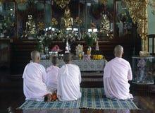Nonnes de prière Image libre de droits