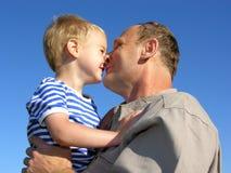 Nonno con il nipote Fotografia Stock Libera da Diritti