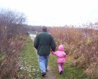 Nonno e me Fotografia Stock