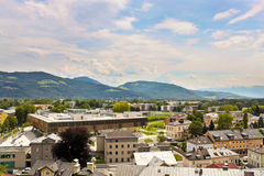 Nonntal district in Salzburg Royalty Free Stock Photography