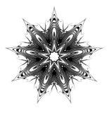 Nono Glyph da estrela ilustração royalty free