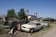 Nono mucchio del quartiere delle automobili 4366 Immagine Stock Libera da Diritti