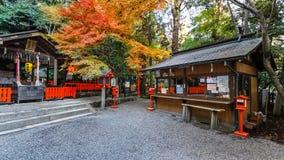 Nonomiya-jinja shrine at Arashiyama in Kyoto Royalty Free Stock Images