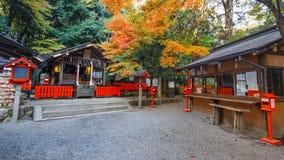 Nonomiya-jinja shrine at Arashiyama in Kyoto Stock Images