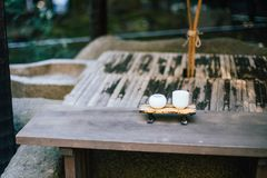 Nonomiya shrine in Arashiyama, Kyoto, Japan. Nonomiya shrine at Arashiyama in Kyoto, Japan Stock Images