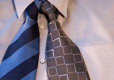 Nonordinary business solution. Tie and collar Stock Images