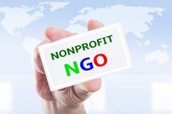 Nonprofit NGO concept Stock Photos