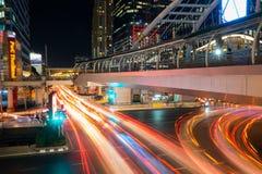 Nonsi Chong Sathon skywalk Στοκ Εικόνα