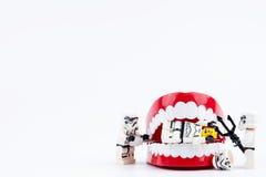 Nonthabure, Tailandia - mayo, 17, 2017: Ayuda del stormtrooper de Lego Fotos de archivo libres de regalías