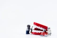 Nonthabure, Thailand - Mei, 17, 2017: Lego die stormtrooper helpen Royalty-vrije Stock Afbeelding