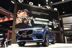 Nonthaburi,泰国- 2018年3月30日:在第39个曼谷国际汽车展示会的新的富豪集团XC60 2018年 免版税图库摄影