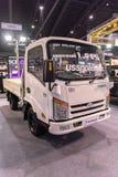 NONTHABURI,泰国- 12月9,2017 :卡车THAINA在摊的哥斯达黎加汽车看法泰国国际性组织马达商展的 免版税库存图片