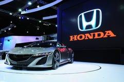 NONTHABURI - 28-ОЕ НОЯБРЯ: Концепция Honda NSX, гибридное concep спорта Стоковая Фотография RF