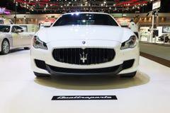NONTHABURI - 12月8日:Maserati Quattroporte汽车 库存照片