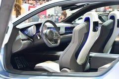 NONTHABURI - 12月1日:Subaru VIZIV概念室内设计  库存照片