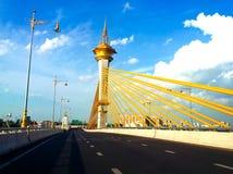 Nonthaburi 1 bridge Stock Images