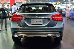 NONTHABURI - 1º DE DEZEMBRO: Exposição do carro de Mercedes BenZ GLA 200 no Th Imagens de Stock