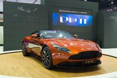 NONTHABURI - 23 DE MARÇO: DB NOVO 11 de Aston Martin na exposição no Fotografia de Stock