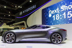 NONTHABURI - DECEMBER 8: Hyundai HND-9 concept car Stock Photography