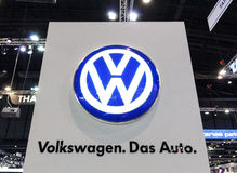 NONTHABURI - DECEMBER 8 : Logo of volkswagen Stock Image